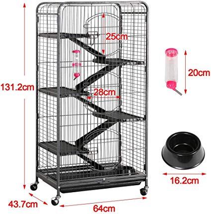 Pet rat cage